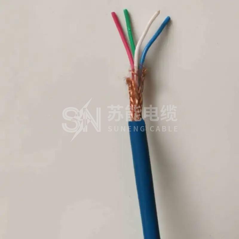 矿用通信信号电缆 MHYVP